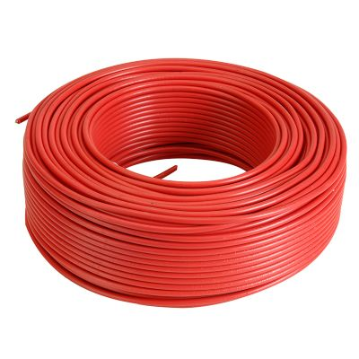 Alambre TW 10 AWG color rojo 100 mt
