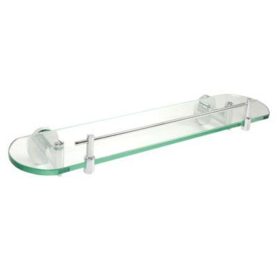 Repisa de vidrio Praga 52x14cm