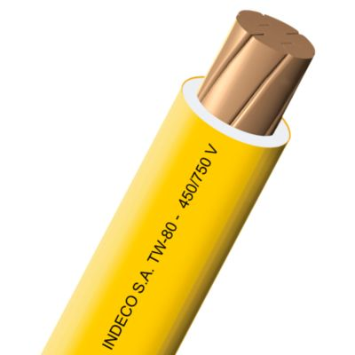 Cable TW 10 AWG Amarillo