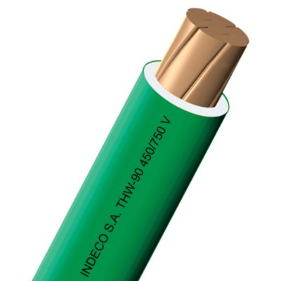Cable THW 14 AWG 100m Verde