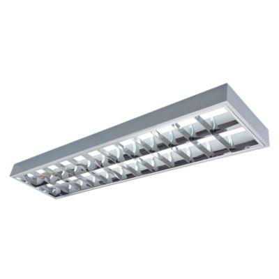 Luminaria Rejilla Adosable 2x40W