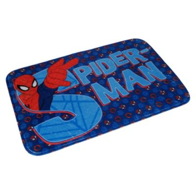 Piso de baño Spiderman
