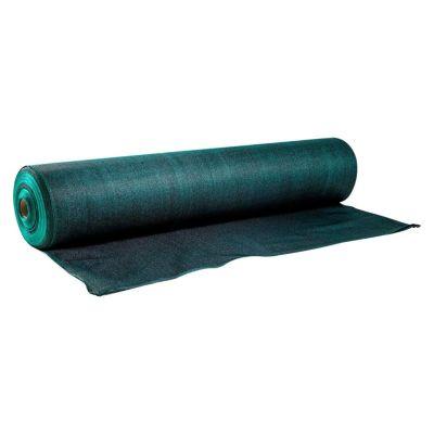 Malla Raschel 80% Negro Verde Rollo x 100 m