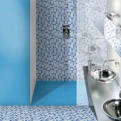 Cerámica Celeste Piscina Liso 36x36cm para piso o pared