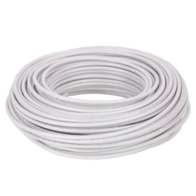 Cable THN 14 AWG Blanco x 25 m