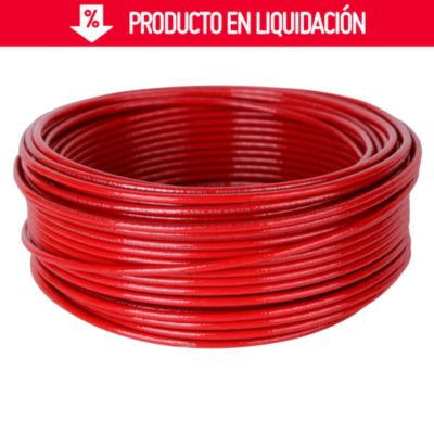 Cable THHN 14 AWG Rojo x 25 m