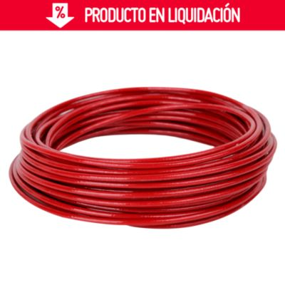 Cable THHN 14 AWG Rojo x 10 m