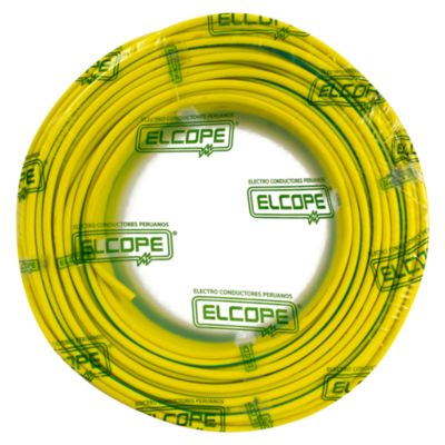 Cable CPT 10 AWG Verde/Amarillo x 100 m