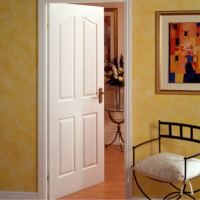 Puerta Interior Madrigal HDF 65 x 207 x 4 Blanca