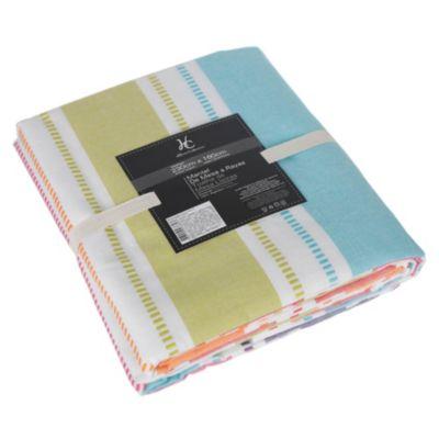 Mantel rectangular línea Color 2.3x1.6
