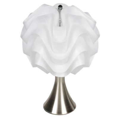 Lámpara de mesa Lady blanca 1 luz
