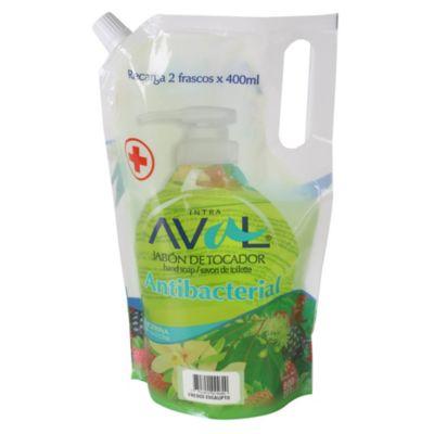 Jabón líquido antibacterial eucalipto 800ml