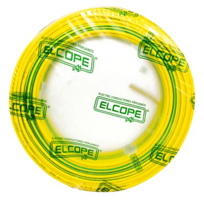Cable CPT 14 AWG Verde/Amarillo x 100 m