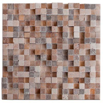 Mosaico Cubik 3D 29.5x29.5cm