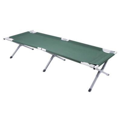 Cama de camping de aluminio