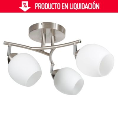 Lámpara de techo Bilbao 3 luces