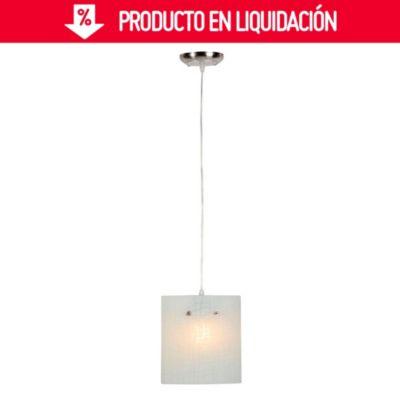 Lámpara Colgante Clasic Vetas 1 Luz E27
