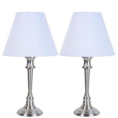 Set 2 Lámparas de mesa Lille 1 luz