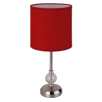 Lámpara de mesa Firenze 1 luz rojo
