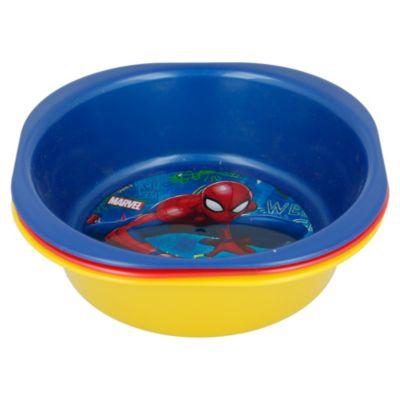 Set x3 unid Bowl Spiderman