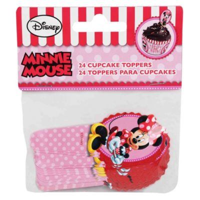Set 24 toppers Minnie