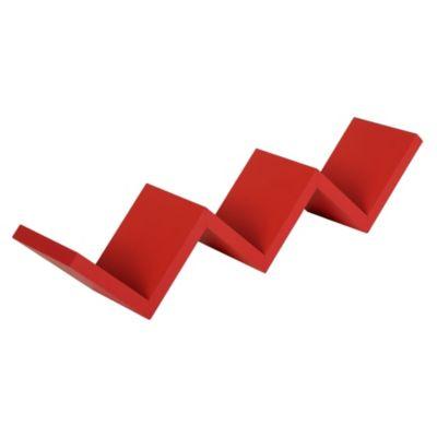 Repisa Zigzag 58.8cm rojo