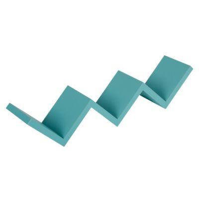 Repisa Zigzag 58.8cm azul