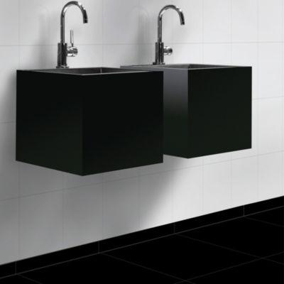 Zócalo 7.2x45 cm  negro