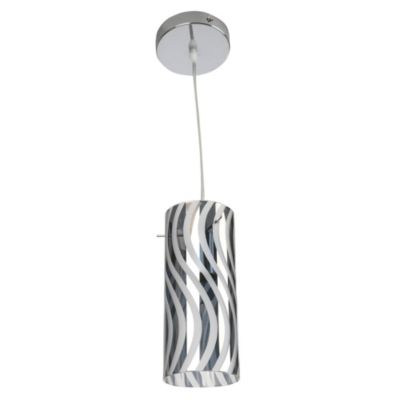 Lámpara colgante Tubos Curvas 1 luz