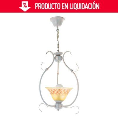 Lámpara Colgante Aro Metal 1 Luz E27