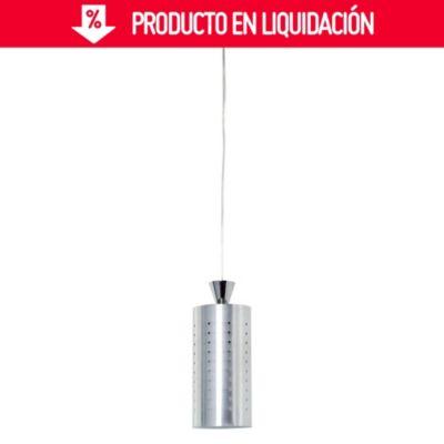 Lámpara colgante Perforado 1 luz