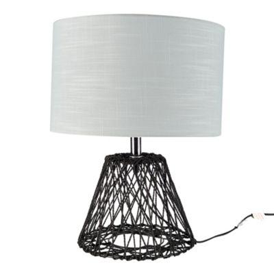 Lámpara de Mesa Cordel Café