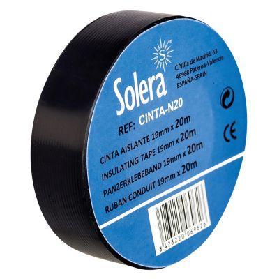 Cinta Aislante SOLERA 19mm x 20m Verde Amarillo