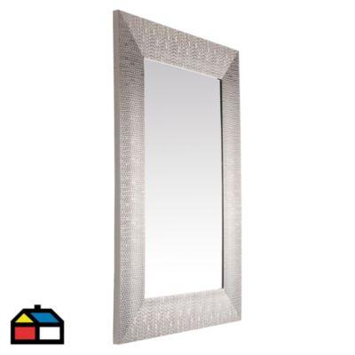 Espejo plateado 50x70 cm