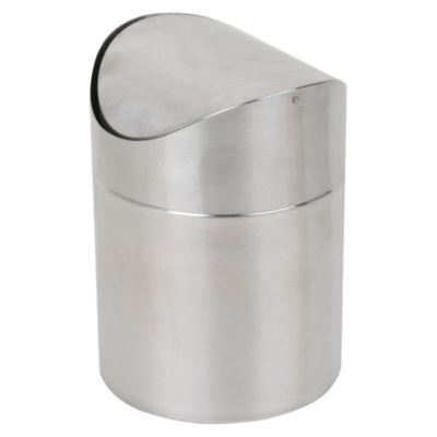 Papelero metálico 1.5 L