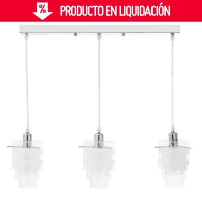 Lámpara colgante Bilbao 3 luces