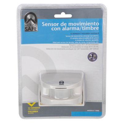 Sensor de Movimiento Infrarojo con Alarma