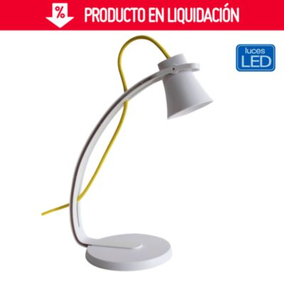 Lámpara de escritorio Led Mouse blanca