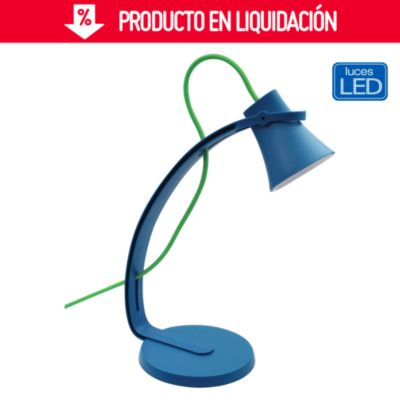 Lámpara de escritorio Led Mouse azul
