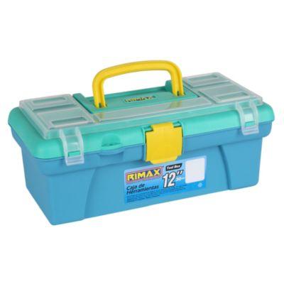 Caja 12'' azul y verde