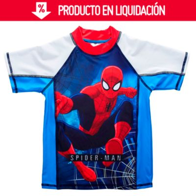 Polo lycra UV50 - Spiderman