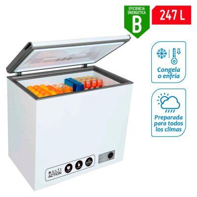 Congeladora 256L CH08 Bl
