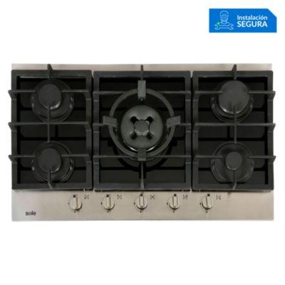 Cocina empotrable 5 quemadores SOLCO039