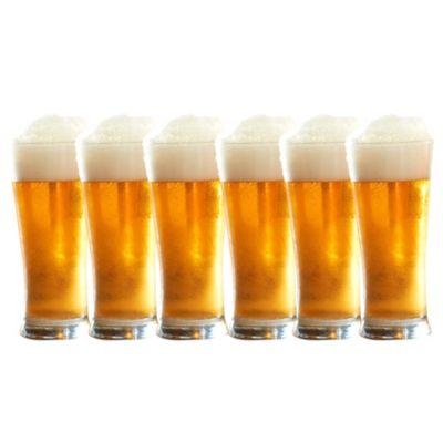 Juego de 6 vasos cerveceros 12 Oz