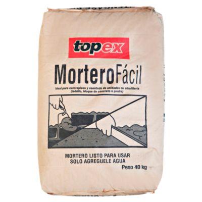 Topex Mortero Fácil 40 kg