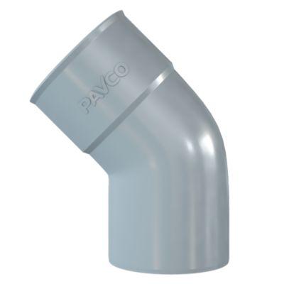 Codo PVC 45° SP 1 1/2''