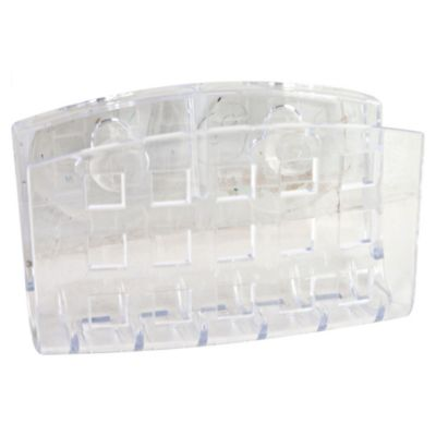 Portajabón transparente