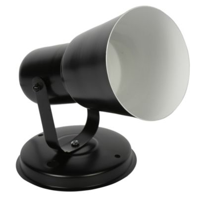 Reflector Portugal negro 1 luz
