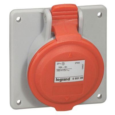 Toma para Tablero P17 Tempra IP 44 3P/T 32A 380V