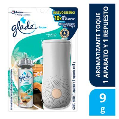Glade Toque con repuesto ParaÍso Azul 9g